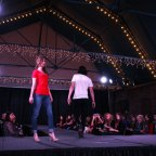 Models show the latest lookd on the runway.