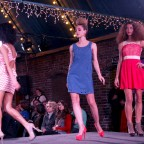 Project Runaway - a fashion show to raise funds for at-risk youth.